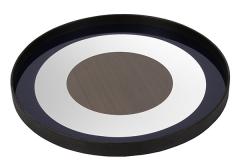 Notre monde - Plateau Blue bullseye
