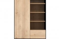 Ethnicraft - Armoire Blackbird 1 porte/1 tiroir