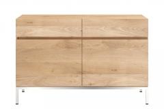 Ethnicraft - Buffet Ligna 2 portes / 2 tiroirs