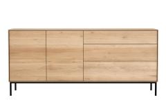 Ethnicraft - Buffet Whitebird 2 portes / 3 tiroirs