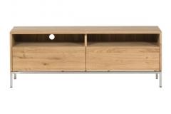 Ethnicraft - Meuble Tv Ligna 2 tiroirs 140cm
