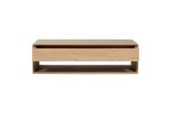 Ethnicraft - Table de salon Nordic 1 tiroir 120*70cm
