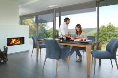 Mobitec - Table Oxford / Chaises Enora