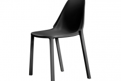 Scab Design - Chaise Piu Anthracite