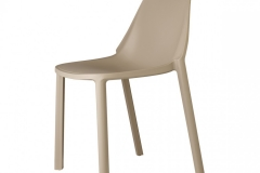 Scab Design - Chaise Piu Dove grey
