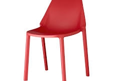 Scab Design - Chaise Piu geranium red