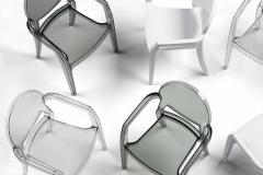 Scab Design - Chaises Igloo avec accoudoirs