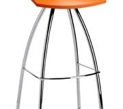 Scab Design - Tabouret Diablito orange