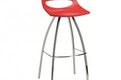 Scab Design - Tabouret Diablito red
