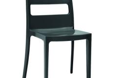 Scab design - Chaise SAI anthracite
