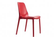 Scab design - Ginevra Geranium red