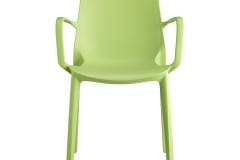 Scab design - Ginevra green avec accoudoirs