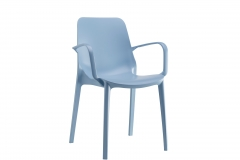 Scab design - Ginevra light blue avec accoudoirs