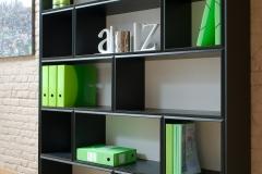 Cube 33 - Aménagement bureau bibliothèque