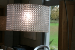 Lampe courbe métal