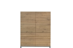 Ethnicraft - Armoire Ligna 4 portes / 2 tiroirs