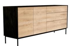 Ethnicraft - Buffet Blackbird 2 portes / 3 tiroirs