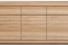 Ethnicraft - Buffet Burger 5 portes 3 tiroirs