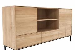 Ethnicraft - Buffet Whitebird 3 portes / 2 tiroirs