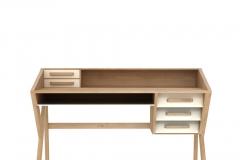 Ethnicraft - Mr Marius - Origami desk white
