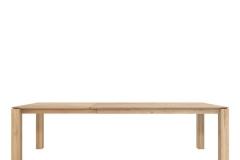 Ethnicraft - Table Slice avec allonge