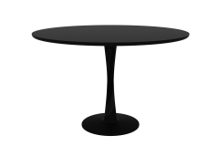 Ethnicraft - Table Torsion en chêne black brushed