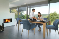 Mobitec - Table Oxford / Chaises Enora