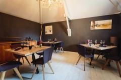 Création - Tables bois/métal Restaurant Uppkök