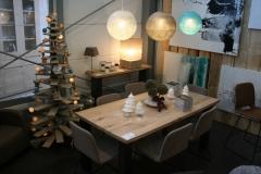 Création - Table métal / Bois