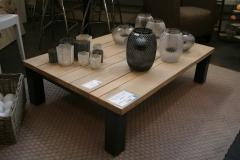 Création - Table de salon métal / bois