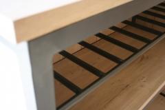 Création - Bar métal et bois sur mesure