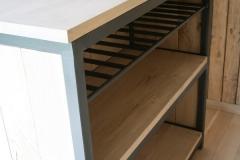 Création - Bar sur mesure bois et métal
