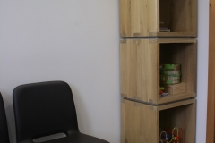 Création - Colonne pour salle d'attente