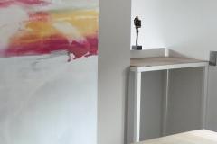 Création - Console métal et bois sur mesure