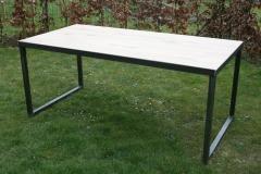 Création - Table métal et bois sur mesure