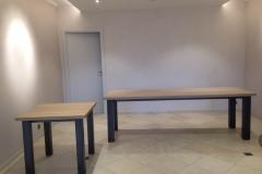 Création - Tables sur mesure pour la Maison Lemonnier
