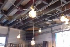 Création - Lampe suspension araignée sur mesure