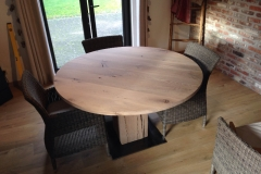 Création - Table en chêne