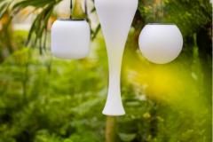 Lampe led pour extérieur - Une chaise sur le toit