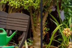 Lampe sur pied outdoor - Une chaise sur le toit