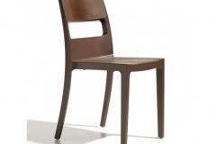 Scab design - Chaise SAI cacao