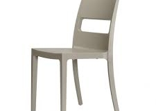 Scab design - Chaise SAI dove grey