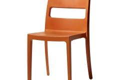 Scab design - Chaise SAI orange