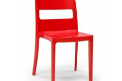 Scab design - Chaise SAI red