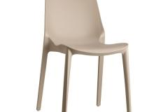 Scab Design - Chaise Ginevra dova grey
