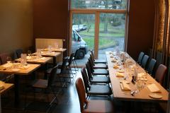 Projet Carré d'herbe - Aménagement restaurant tables et chaises